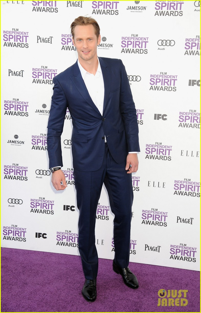 alexander skarsgard spirit awards 2012 04