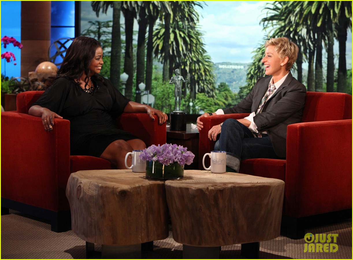 octavia spencer ellen show
