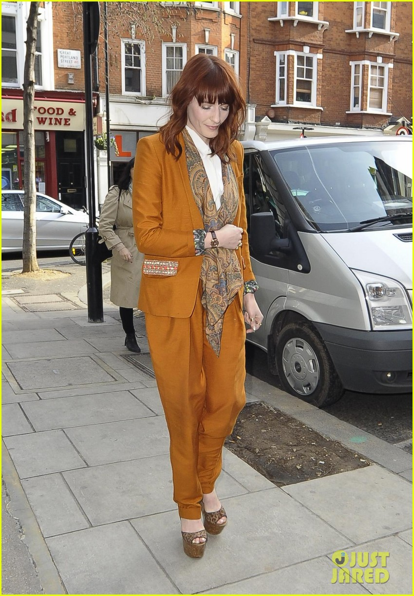 florence welch brit awards 2012 102631525