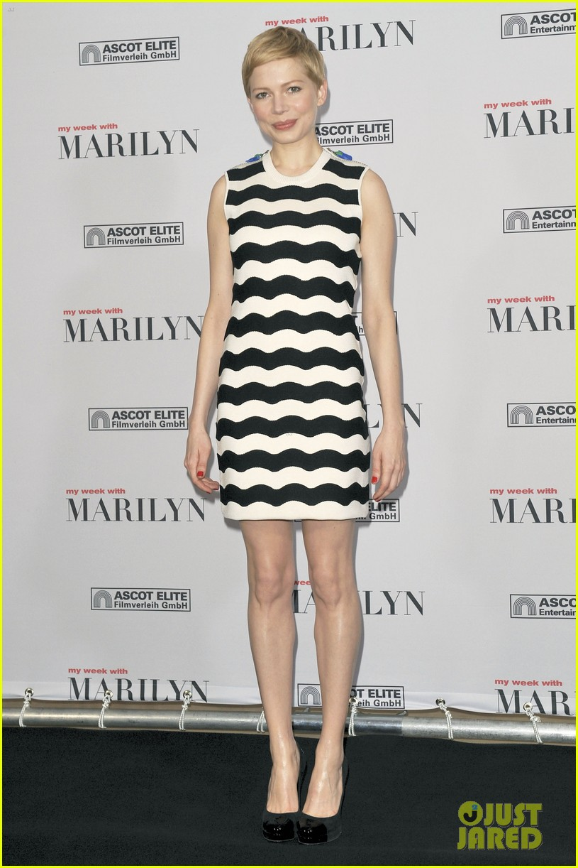 michelle williams marilyn berlin photo call 02