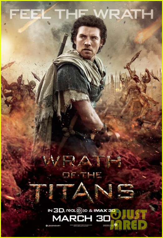 sam worthington wrath posters 01