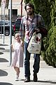 ben affleck brings violet to ballet class 08