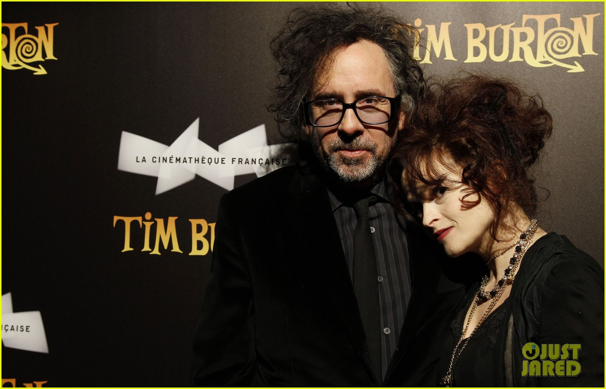 helena bonham carter tim burton exhibition with eva green 07