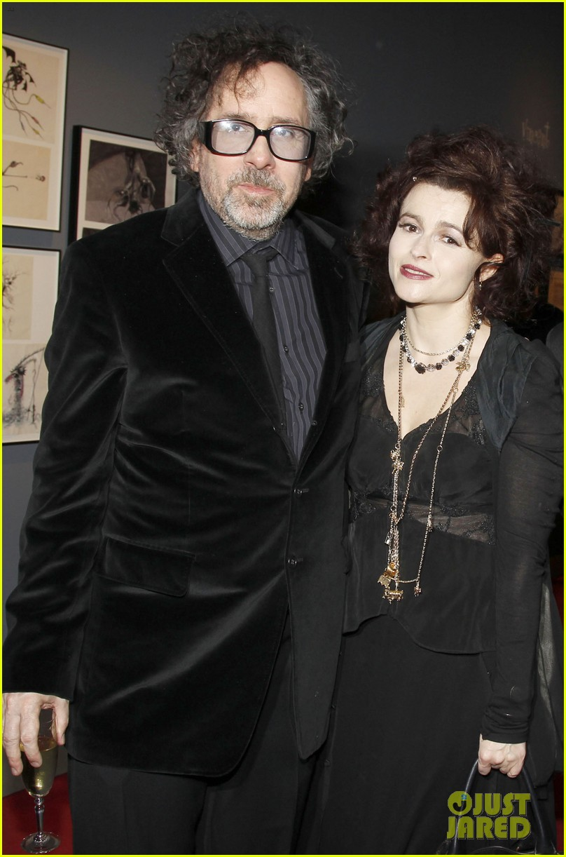 helena bonham carter tim burton exhibition with eva green 122636177