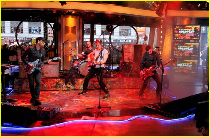 coldplay good morning america 04