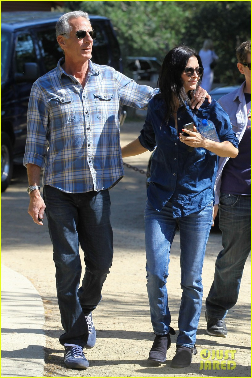 courteney cox cougar town location scouting 062635472