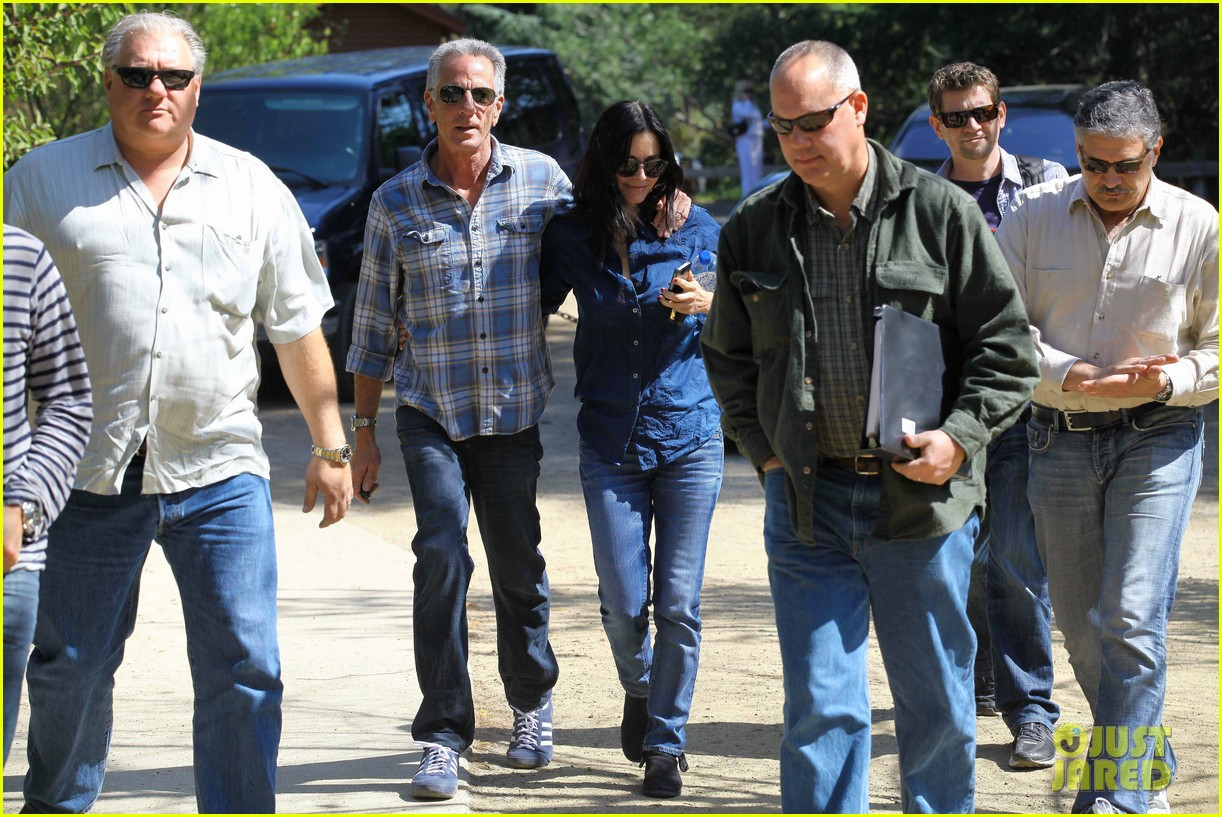 courteney cox cougar town location scouting 17
