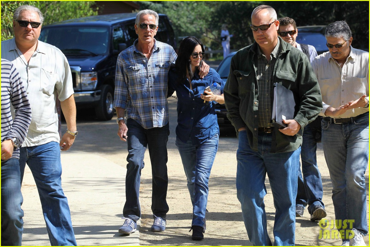 courteney cox cougar town location scouting 182635484