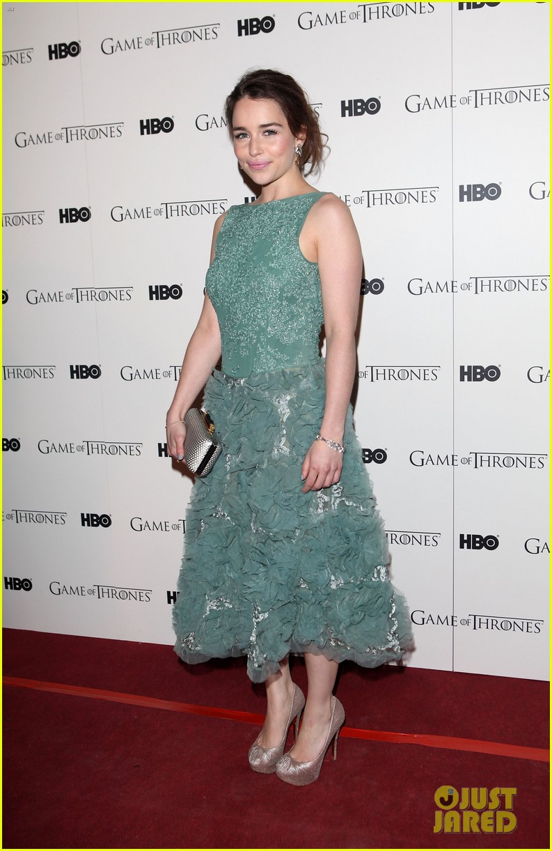 emilia clarke game of thrones dvd launch 06
