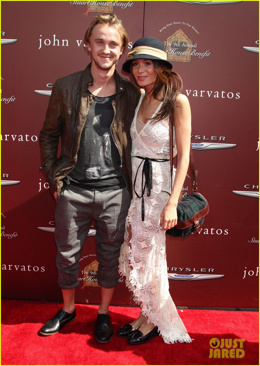 tom felton john varvatos stuart house benefit with jade olivia 022638263