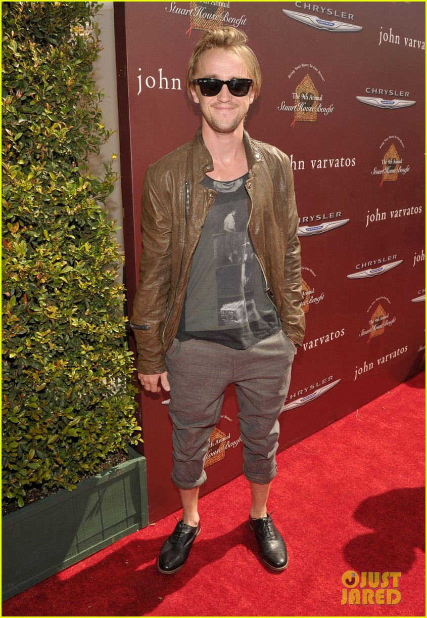 tom felton john varvatos stuart house benefit with jade olivia 03