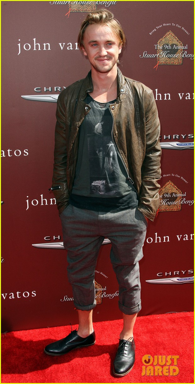 tom felton john varvatos stuart house benefit with jade olivia 10