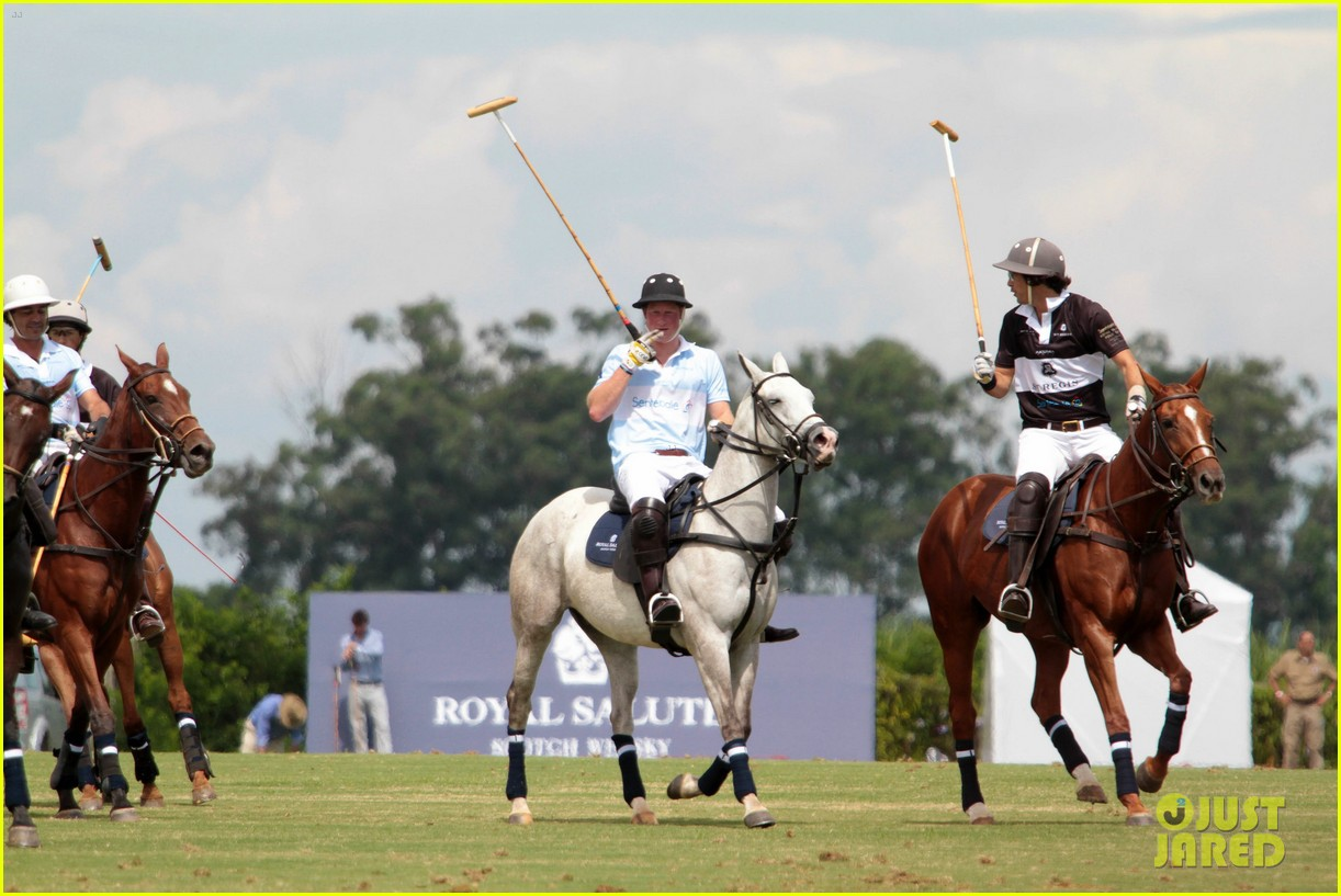 prince harry polo 22