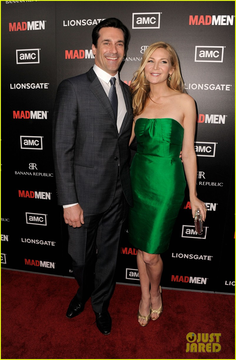 january jones jon hamm mad men premiere 18