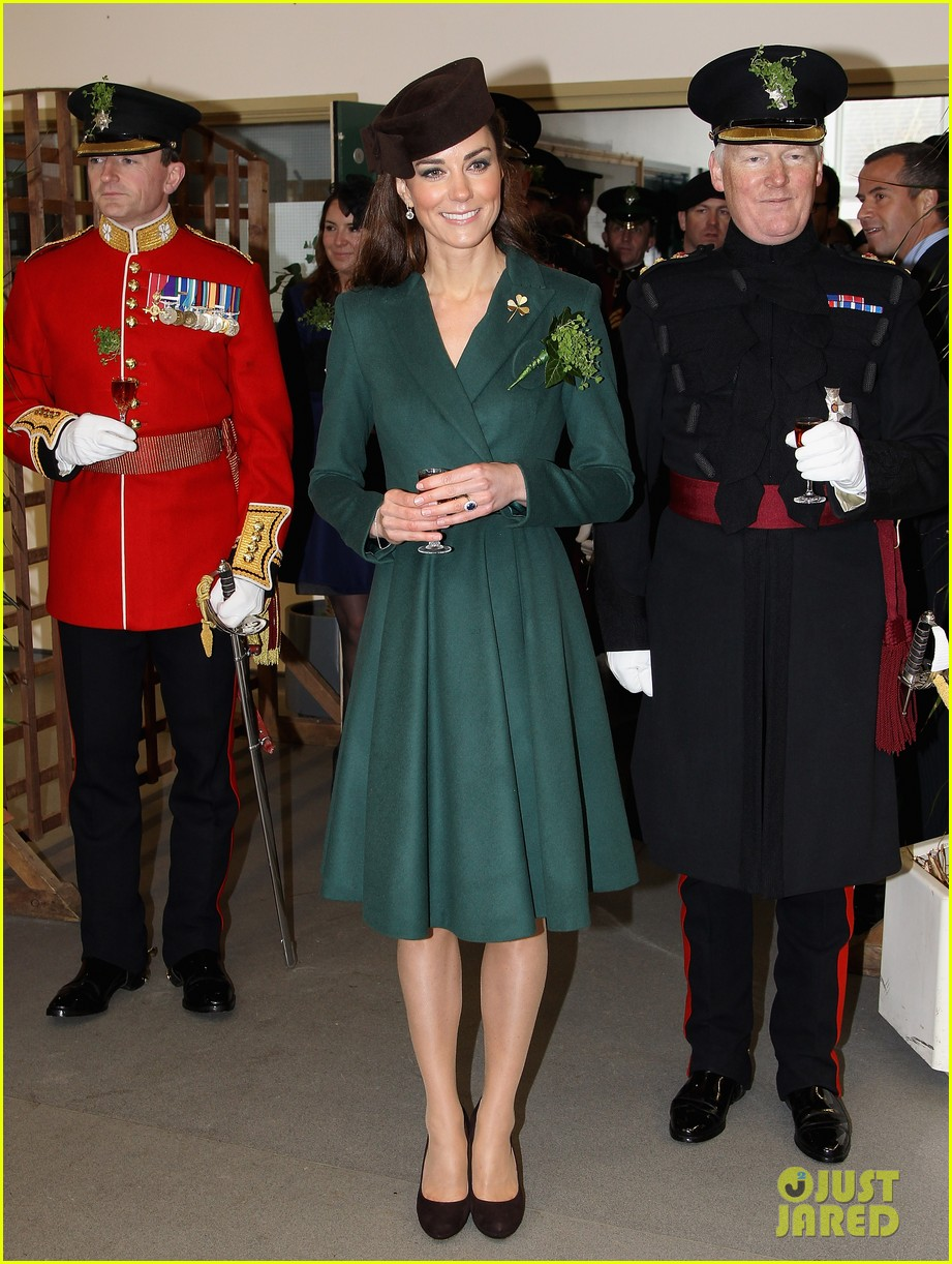 duchess kate saint patricks day 03
