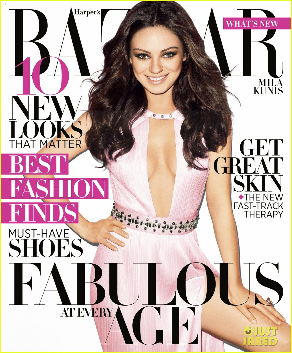 mila kunis harpers bazaar april 2012 02