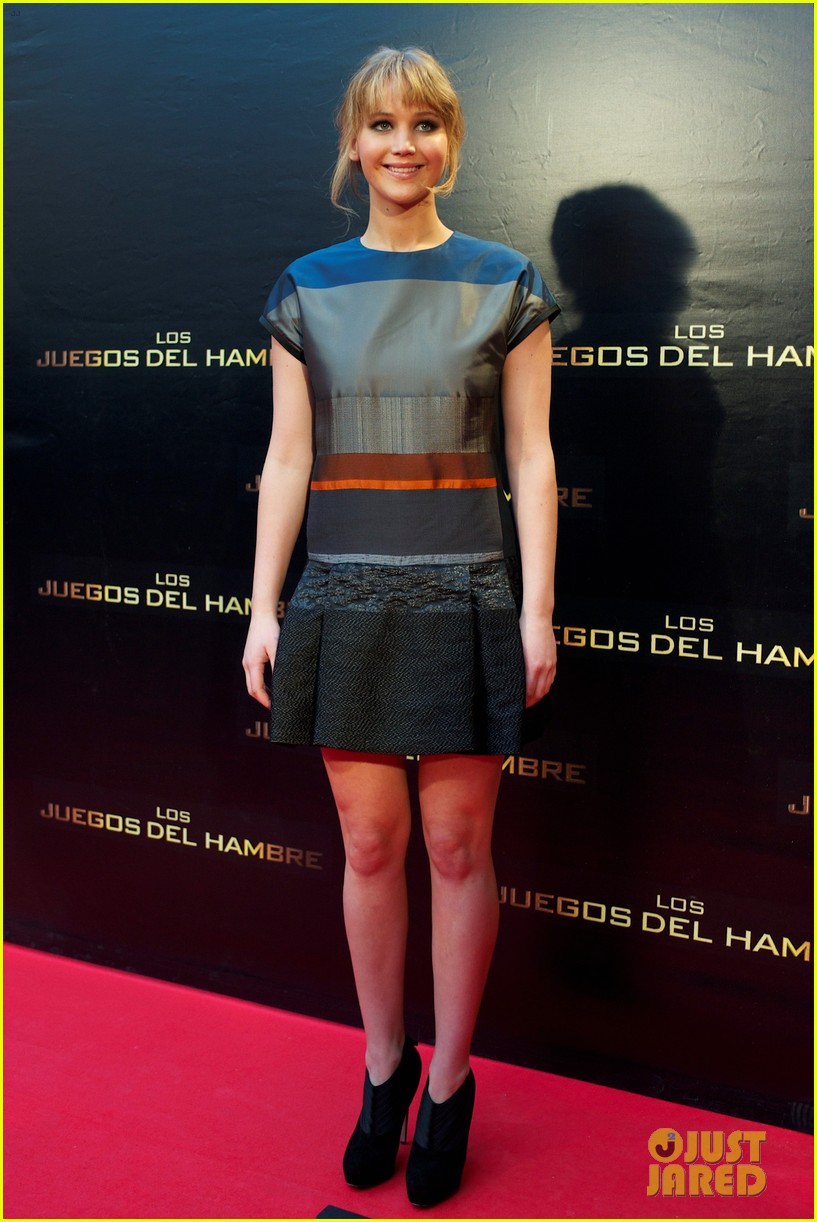 jennifer lawrence hunger games madrid 10