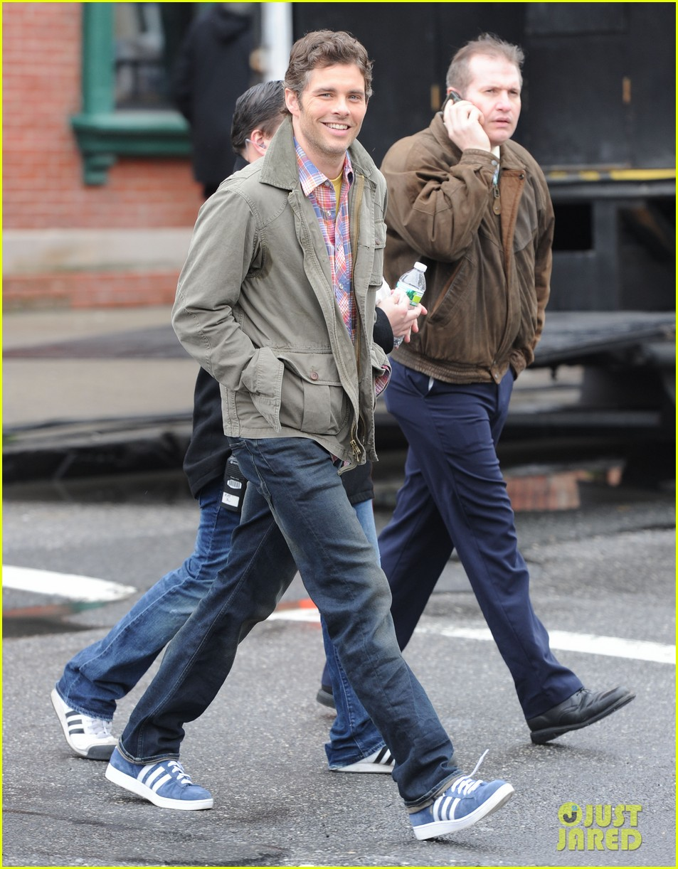 james marsden new york filming 082639774