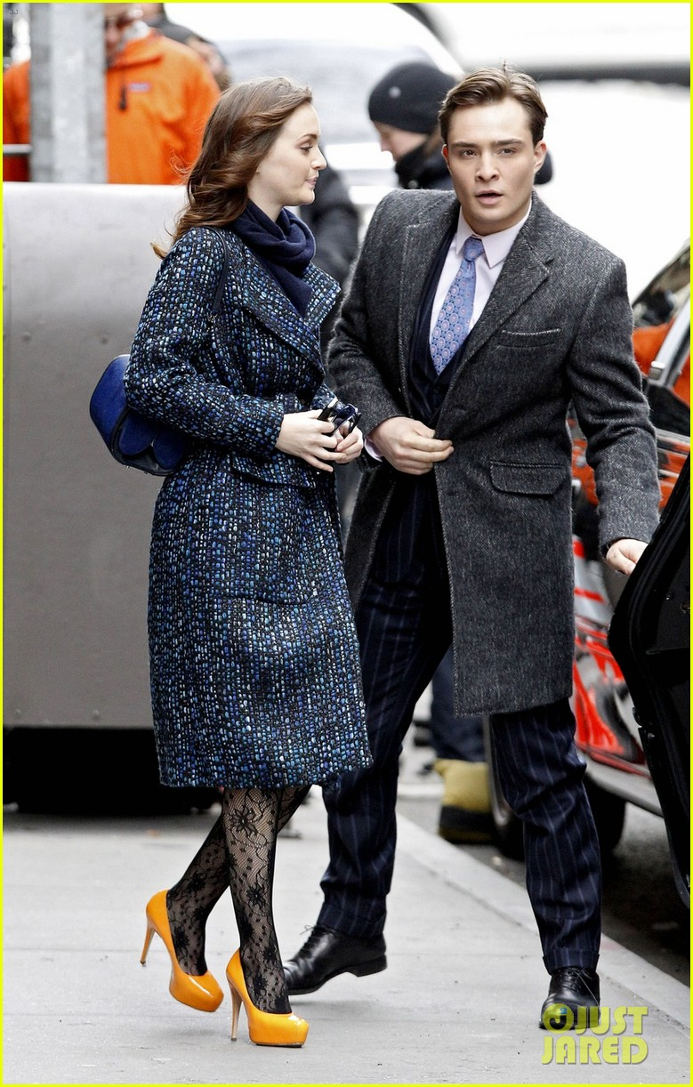 Full Sized Photo of leighton meester ed westwick gossip ... Ed Westwick Girlfriend