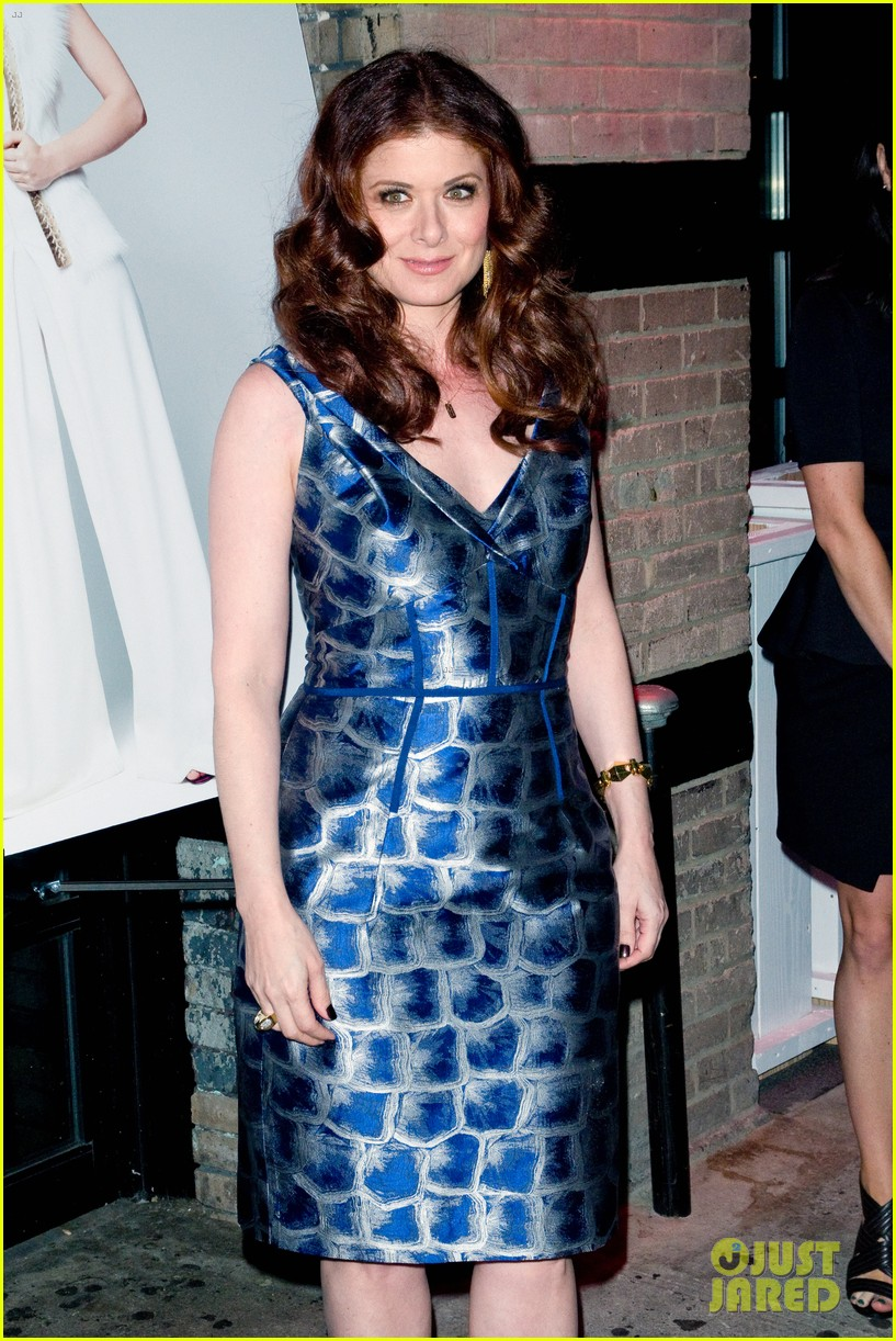 debra messing gotham cover party 01