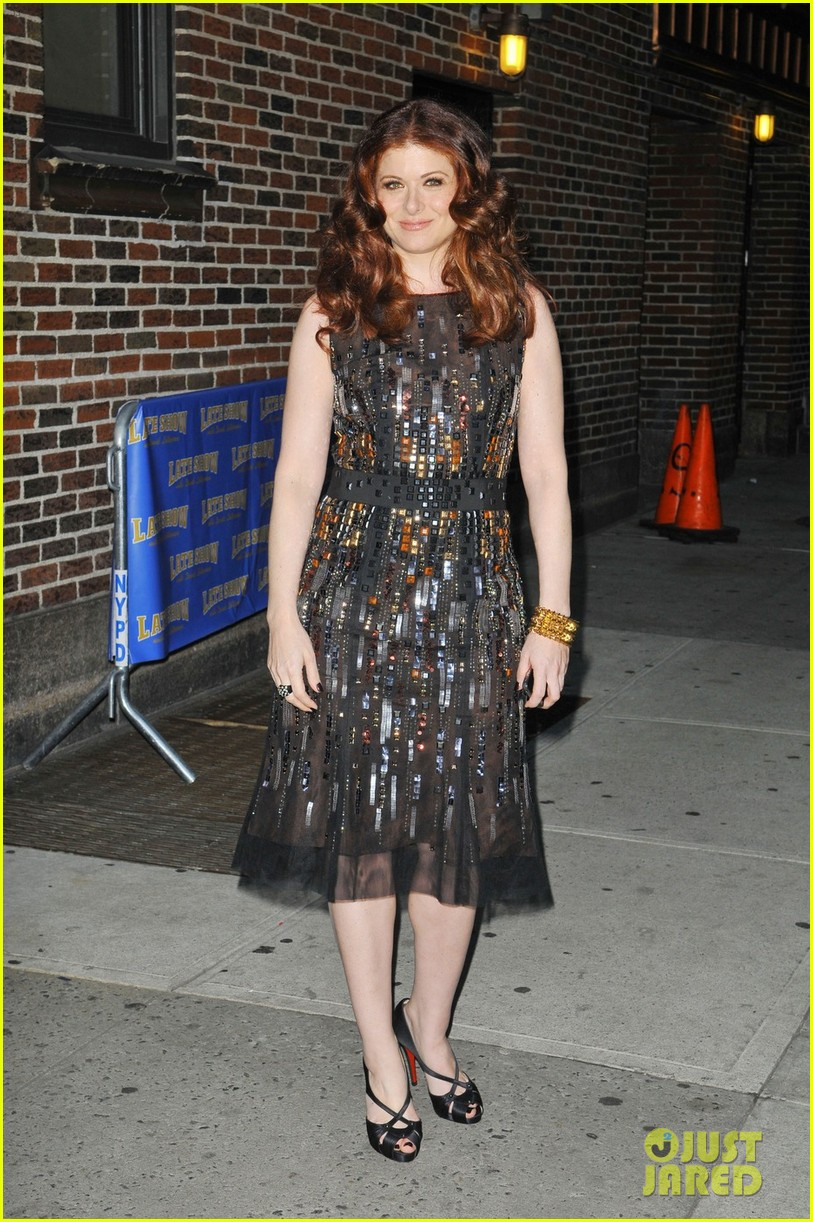 debra messing gotham cover party 07