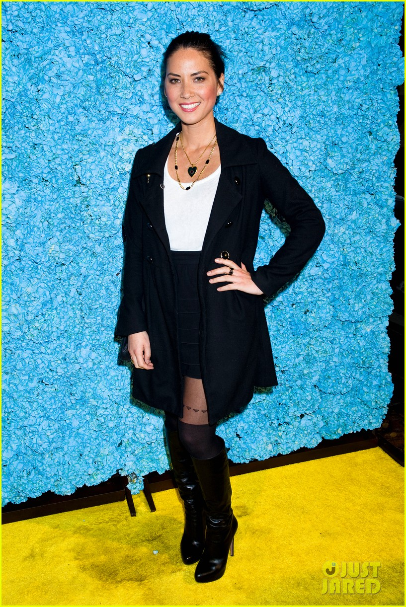 olivia munn rose mcgowan just jared 30th birthday bash 02