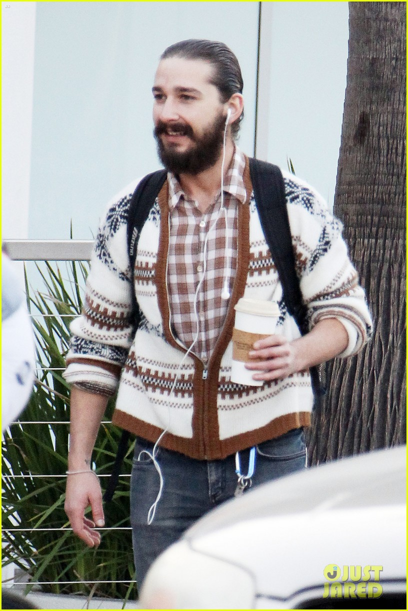 shia labeouf beard coffee 02