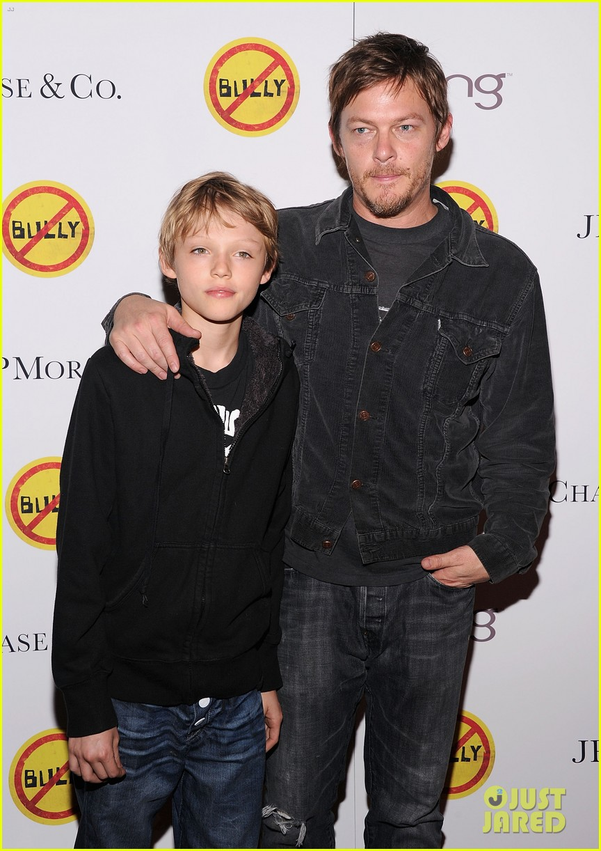meryl streep norman reedus bully screening 05