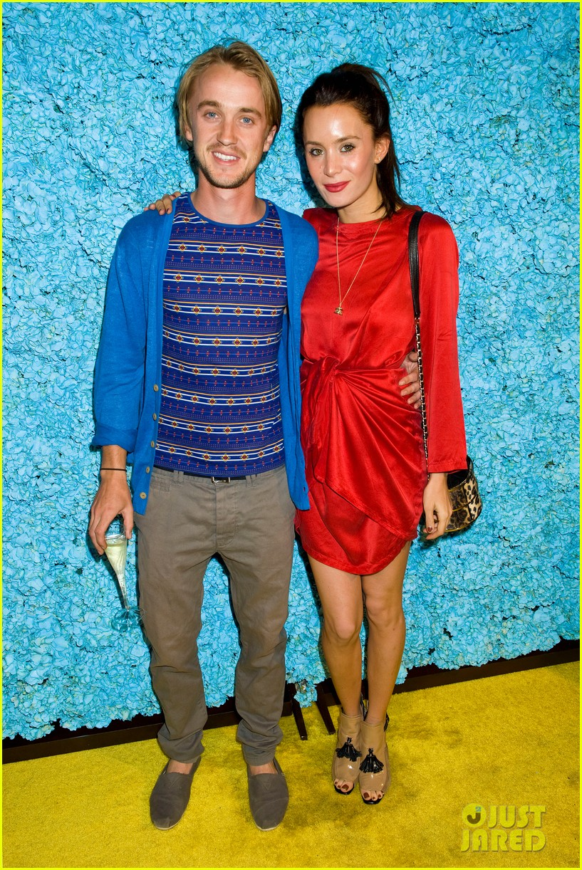 tom felton just jared 30th birthday bash 05