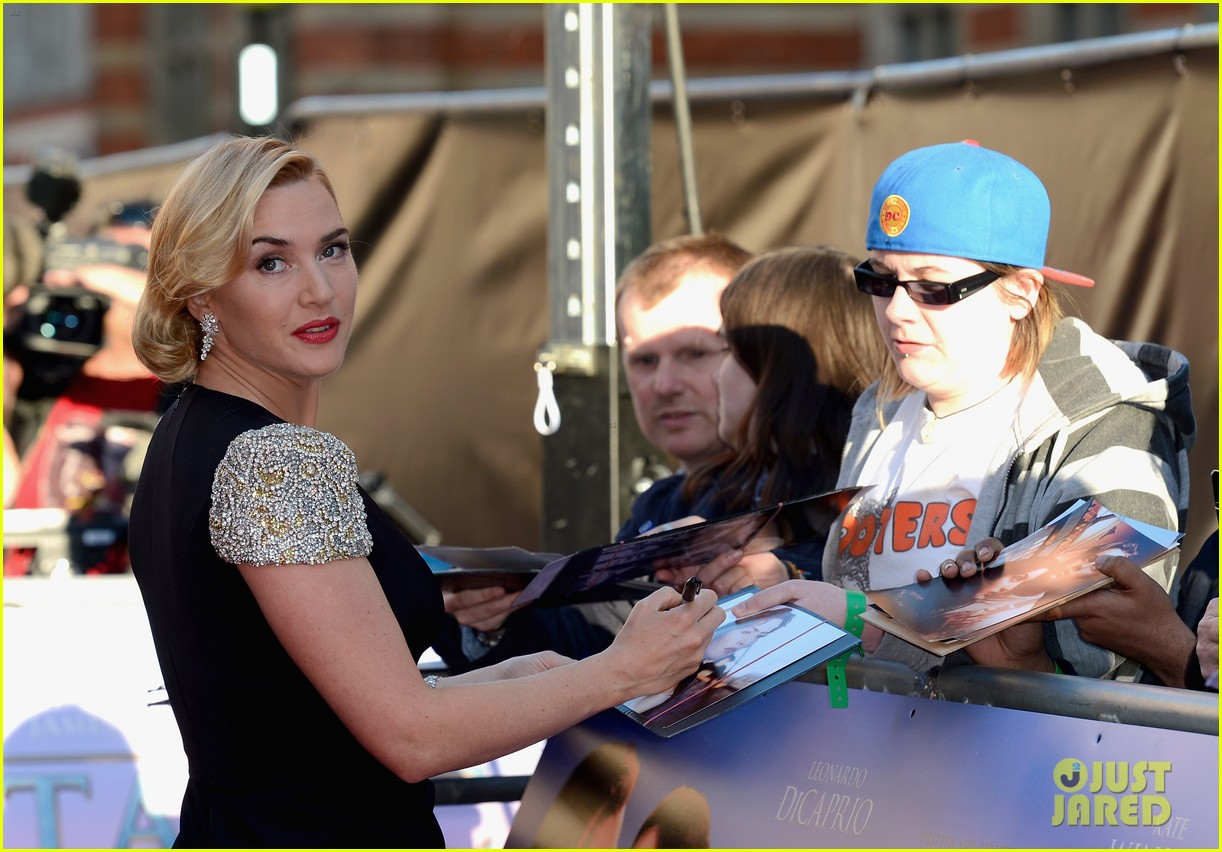 kate winslet titanic 3d premiere 03
