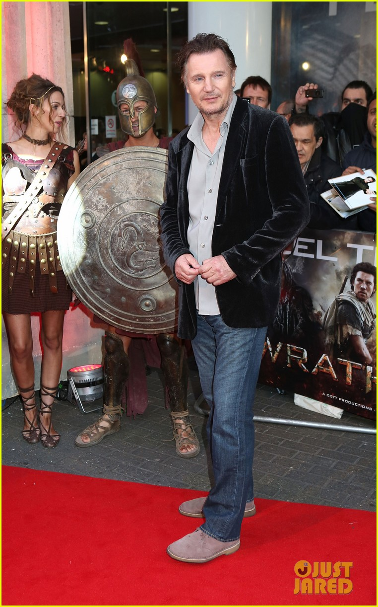 sam worthington wrath of the titans london premiere 06