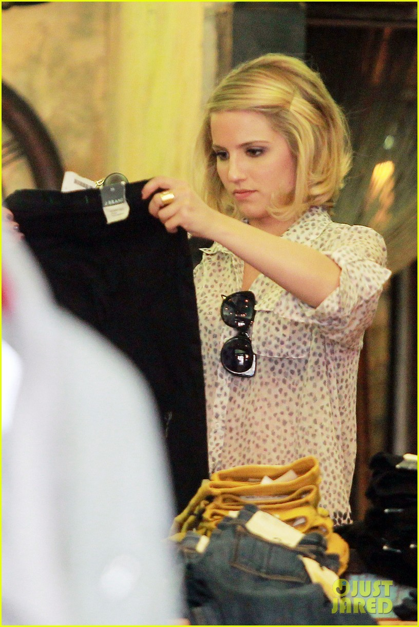 dianna agron jeans shopping 012645041