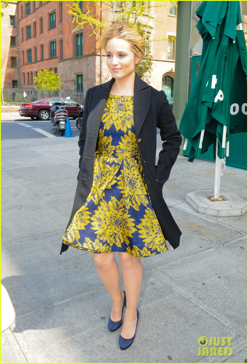 dianna agron glee picked up season 4 03