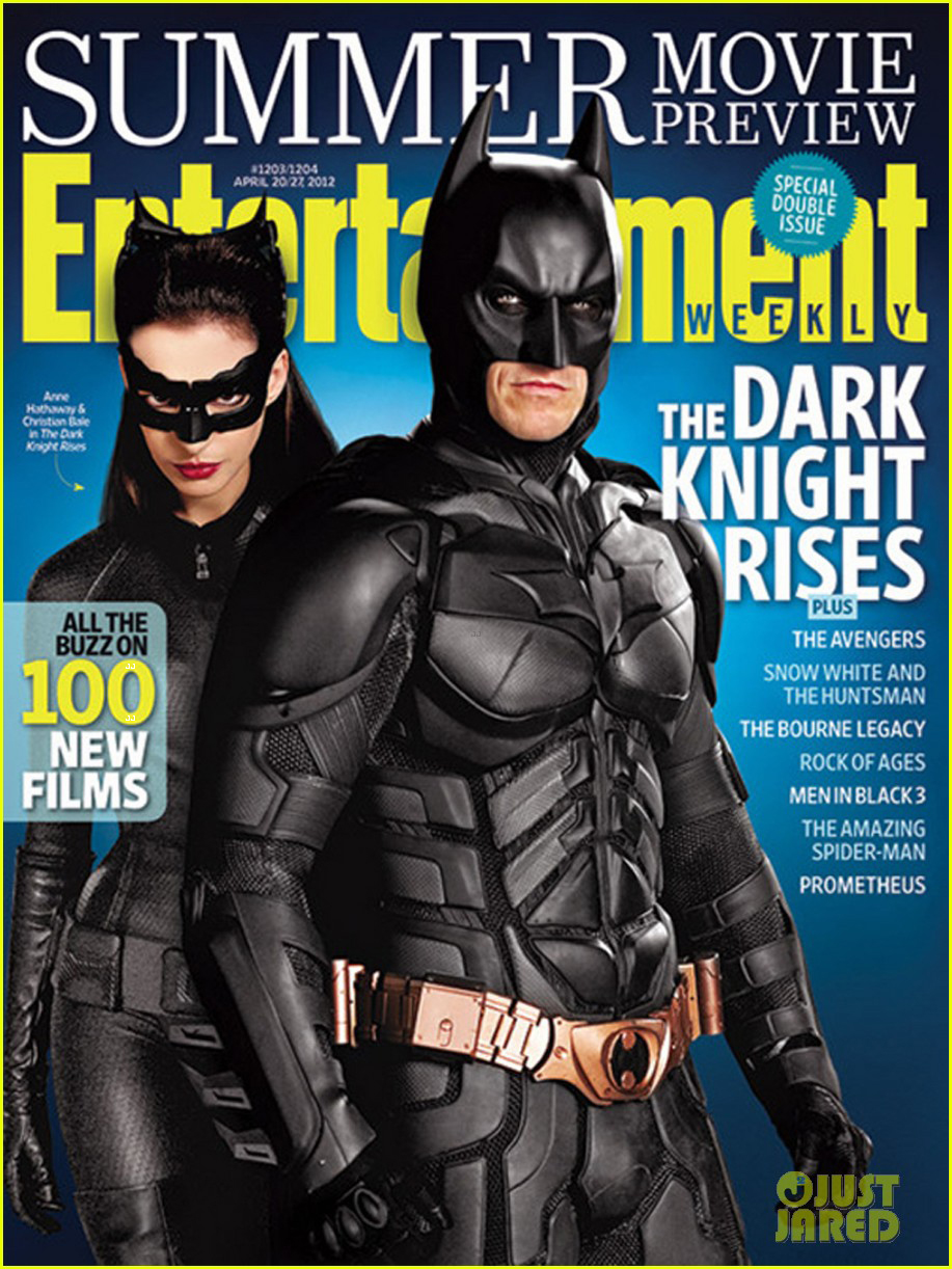 Christian Bale Covers 'Entertainment Weekly' with Anne ...