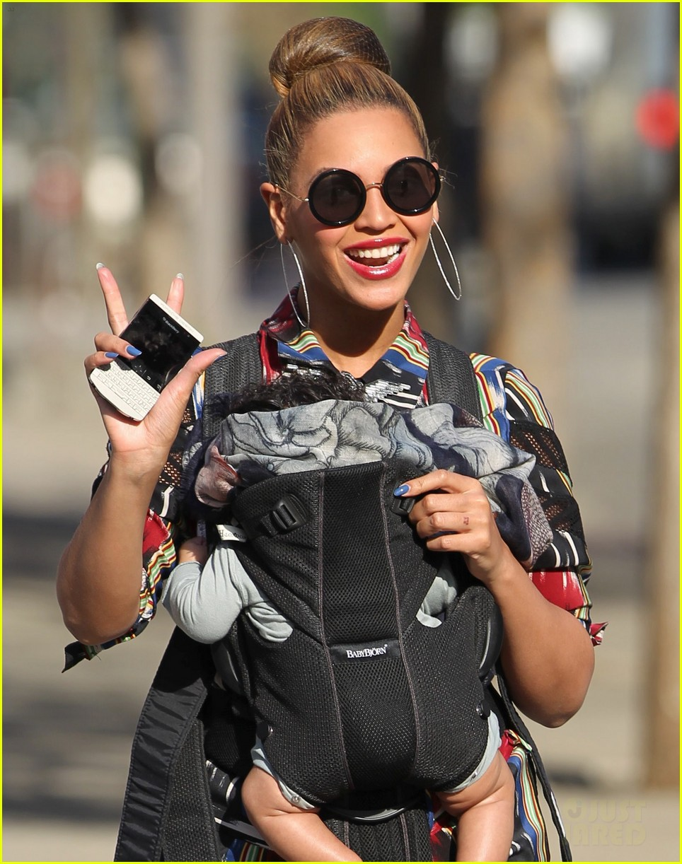 beyonce blue ivy carter central park 02