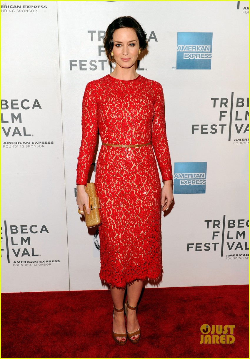 emily blunt your sisters sister premiere tribeca 072651001