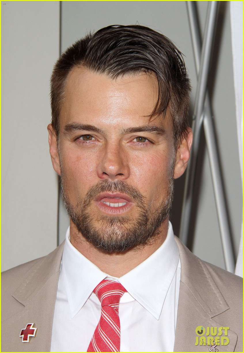 josh duhamel christa b allen red tie affair gala 102652196