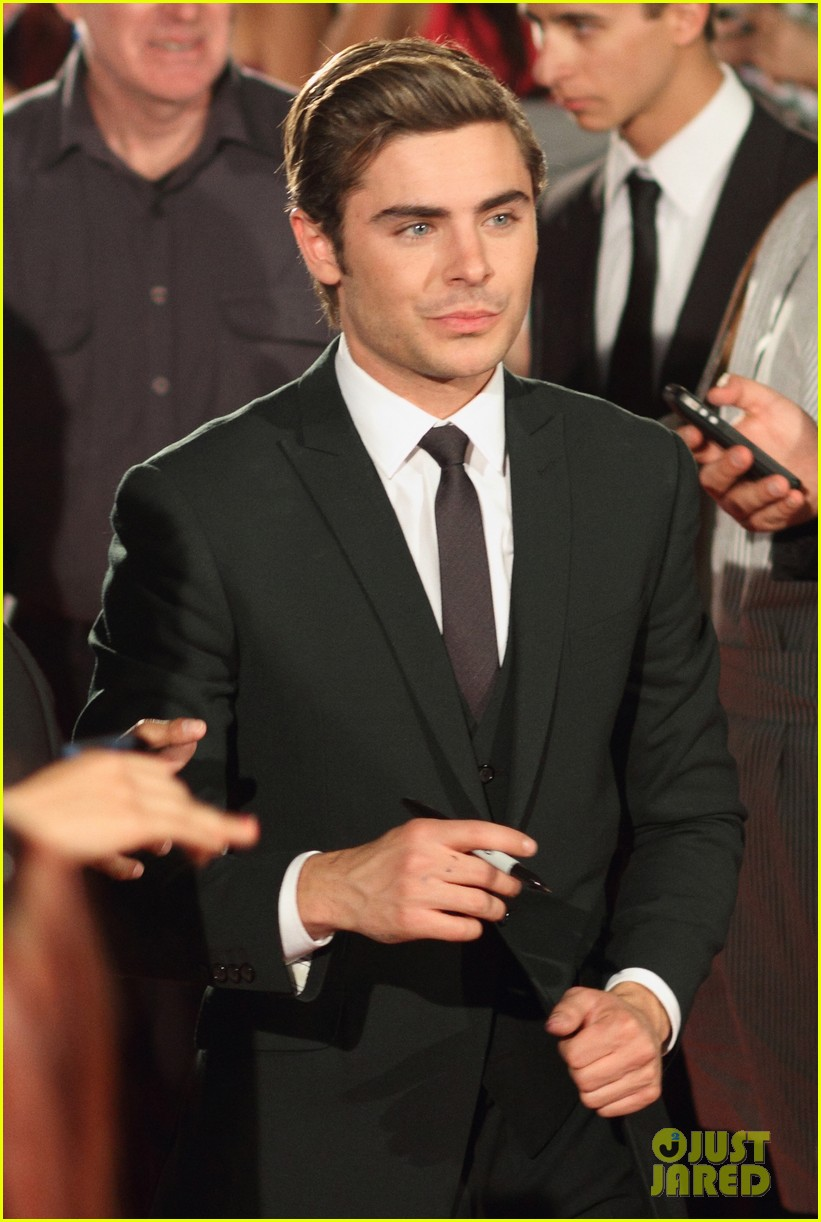 zac efron lucky one adelaide premiere 04
