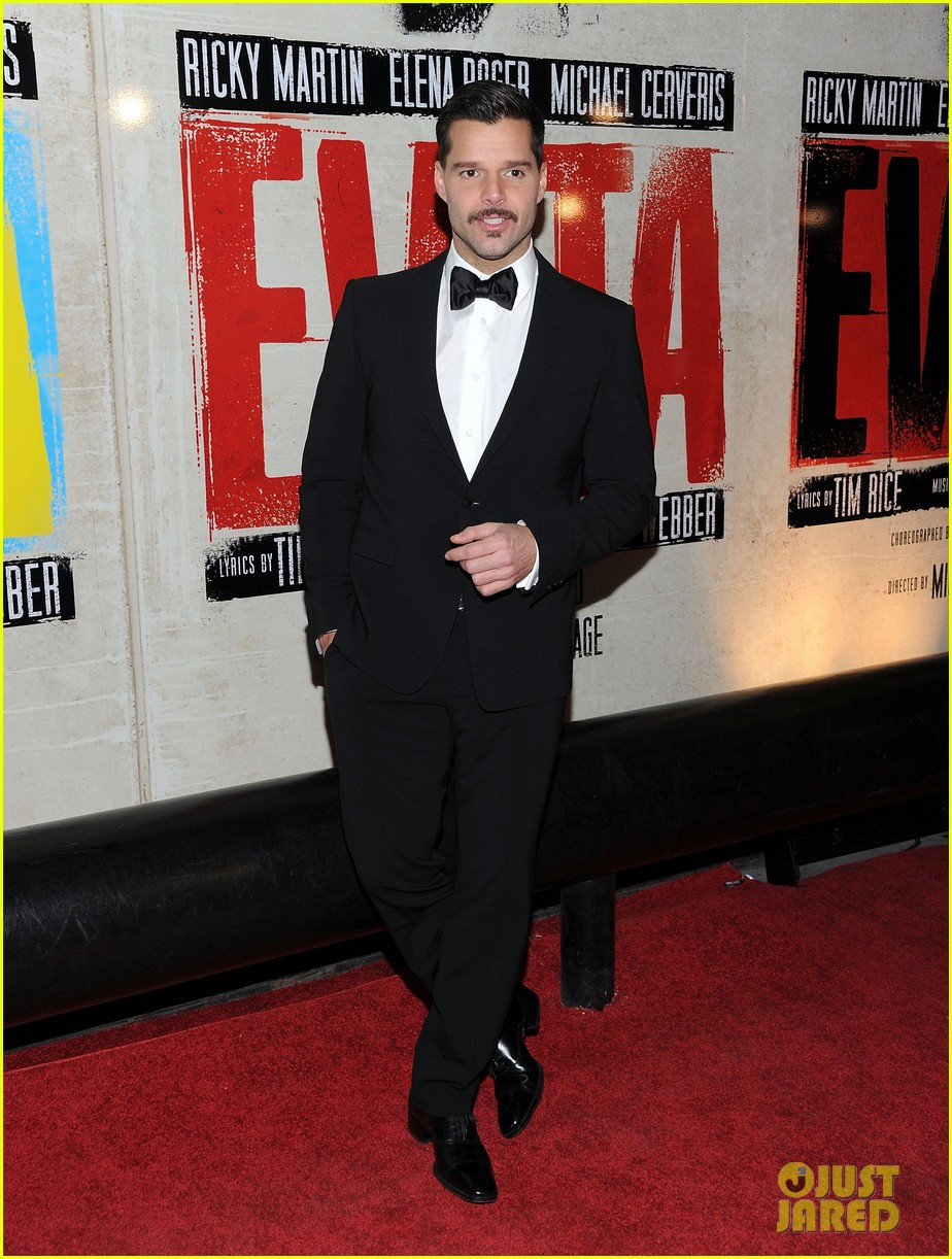 ricky martin evita broadway opening night 092645803