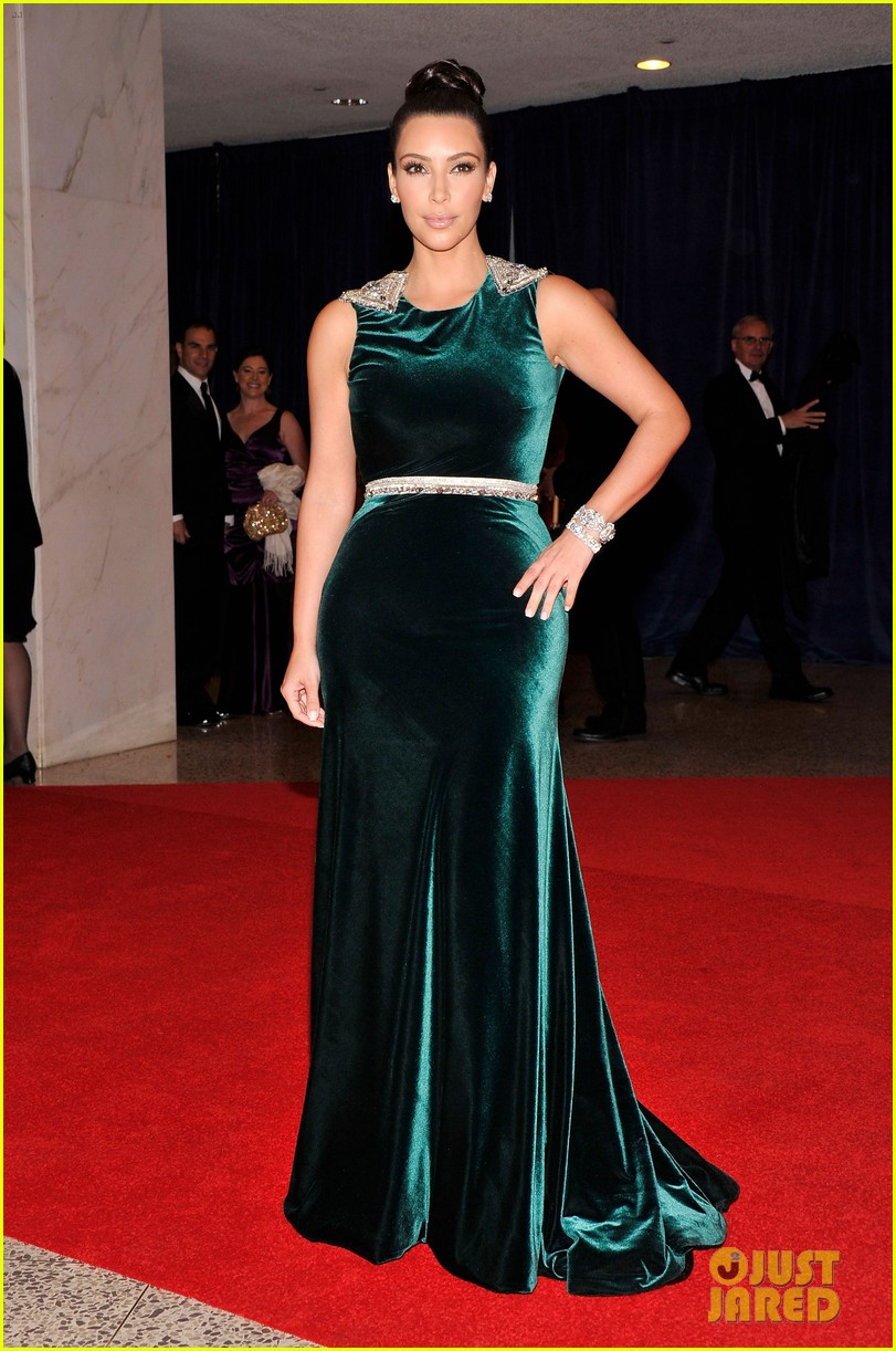 kim kardashian white house correspondents dinner 05