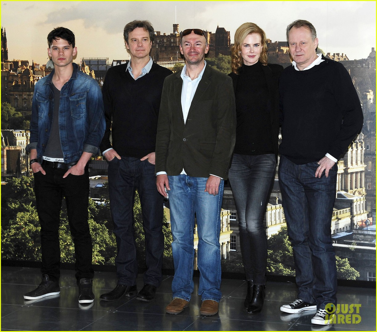 nicole kidman the railway man edinburgh photo call
