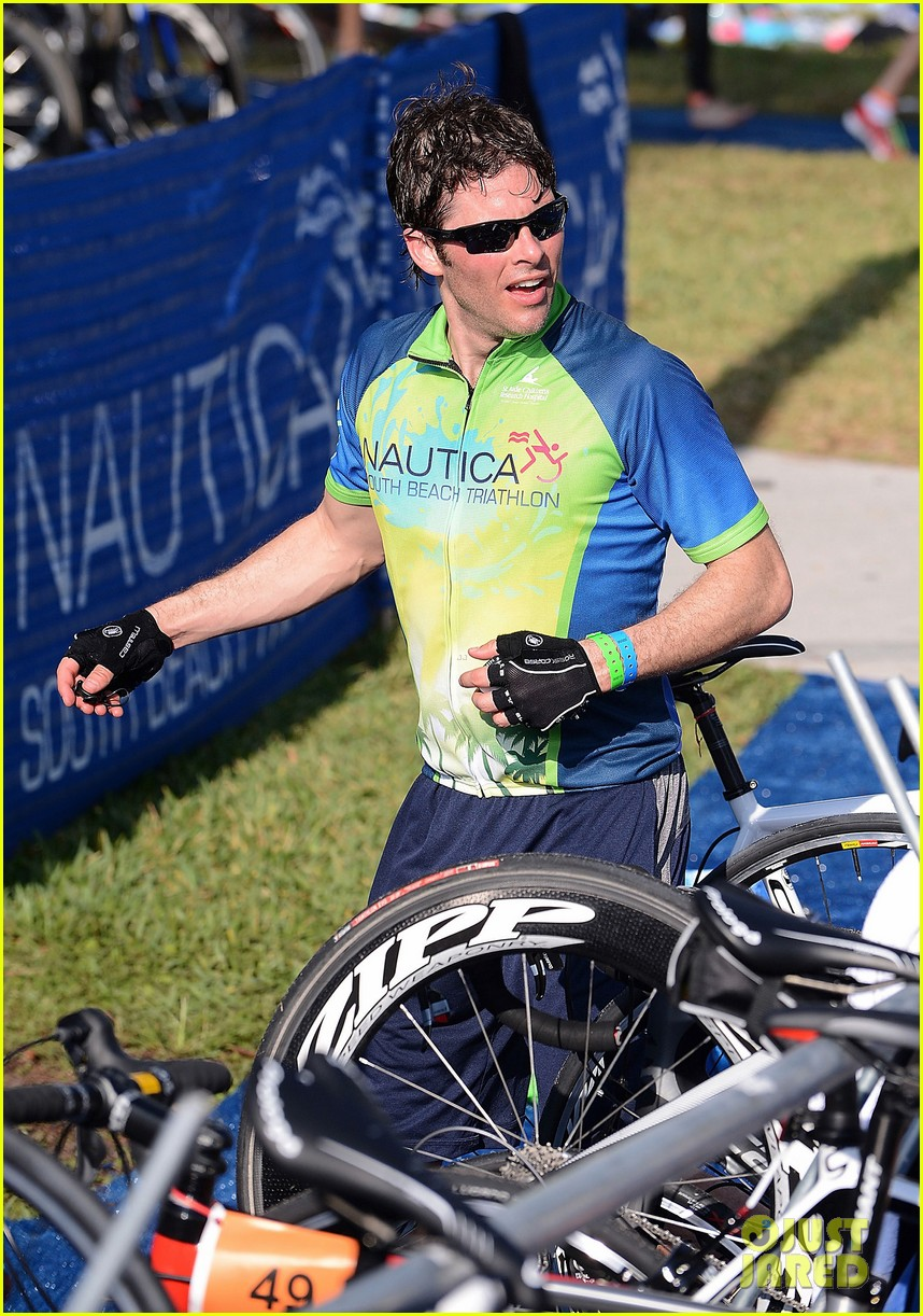 james marsden triathlon 15