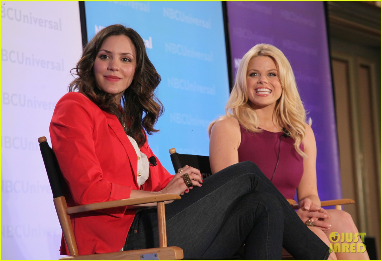 katharine mcphee megan hilty smash nbc press day 17