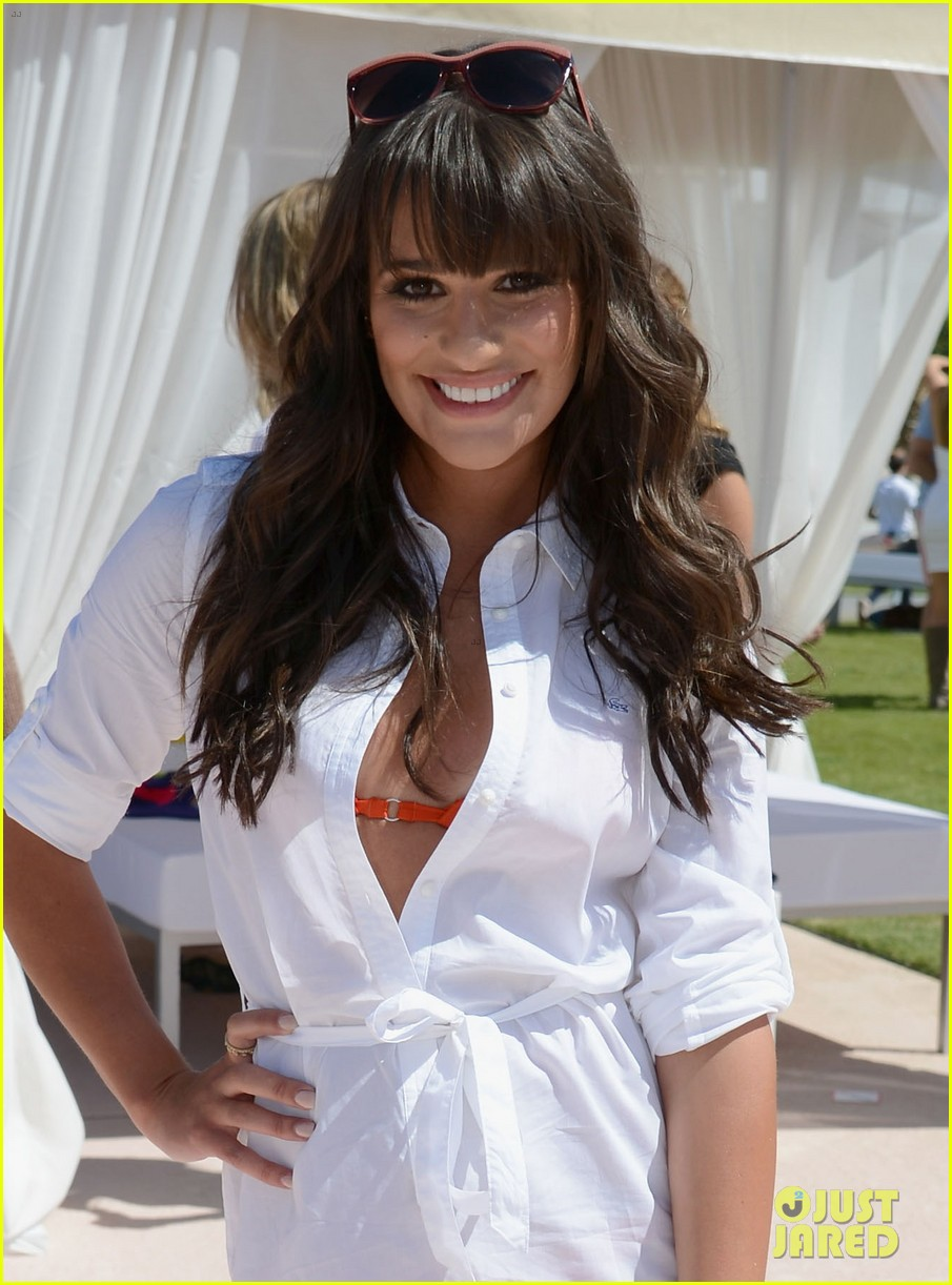 lea michele cory monteith lacoste live party 012648925