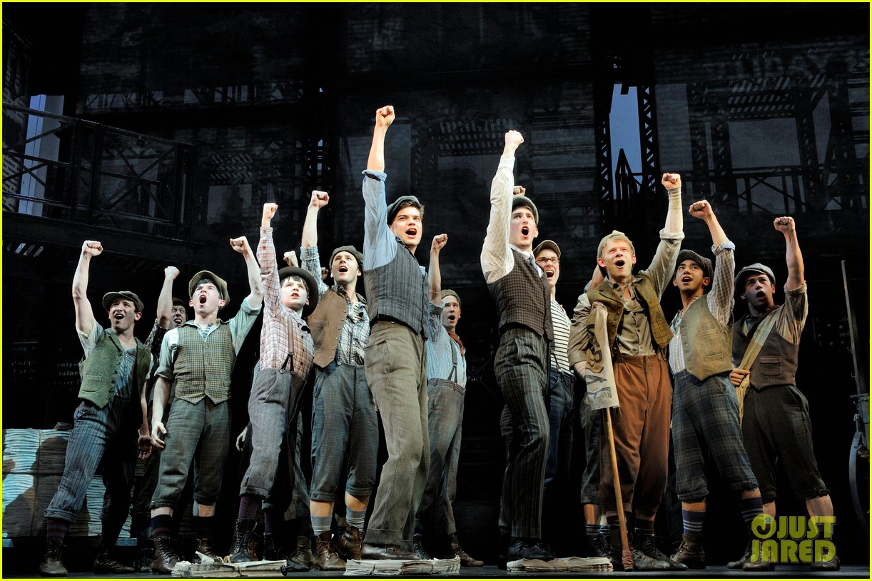 newsies on broadway 102650390