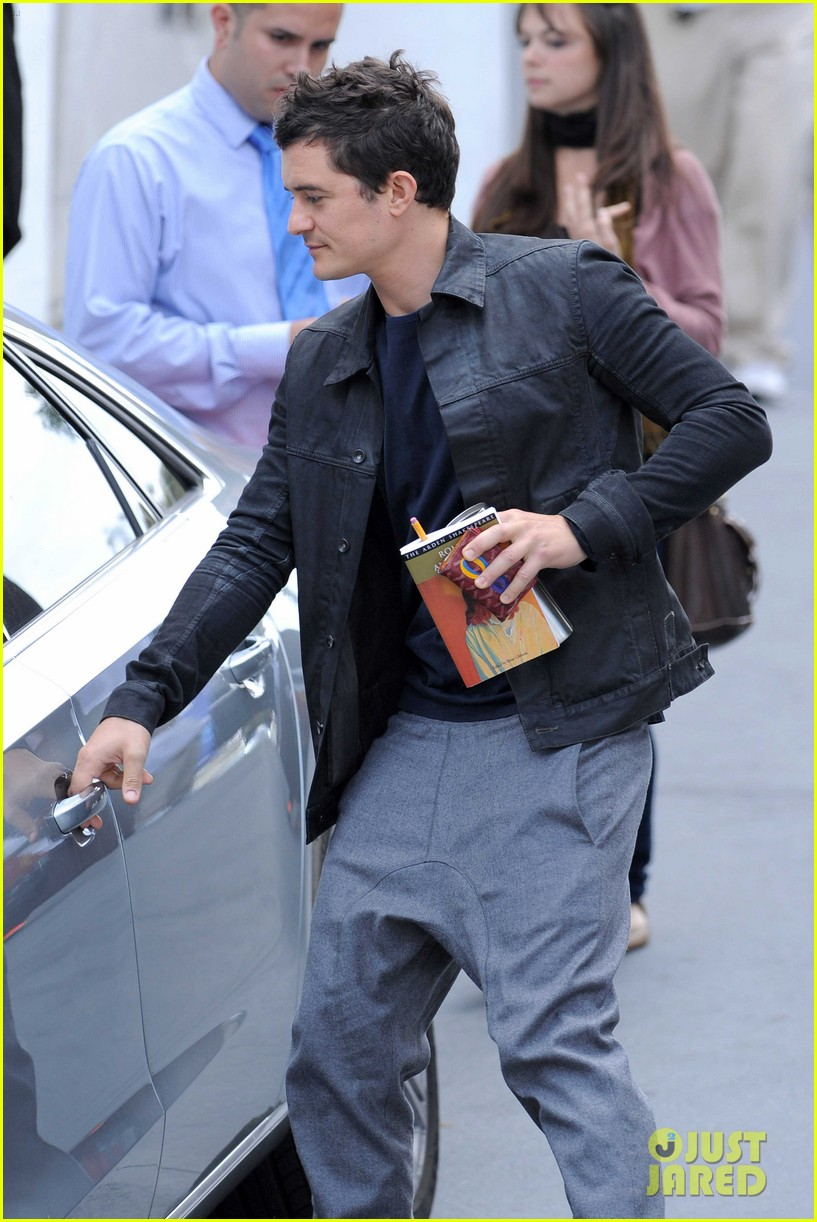 Orlando Bloom: Personalized Goyard Wallet! Orlando Bloom