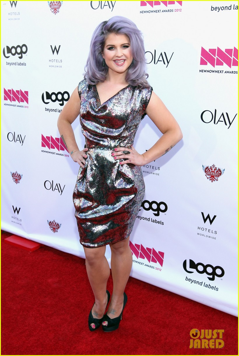 kelly osbourne logo newnownext awards 14