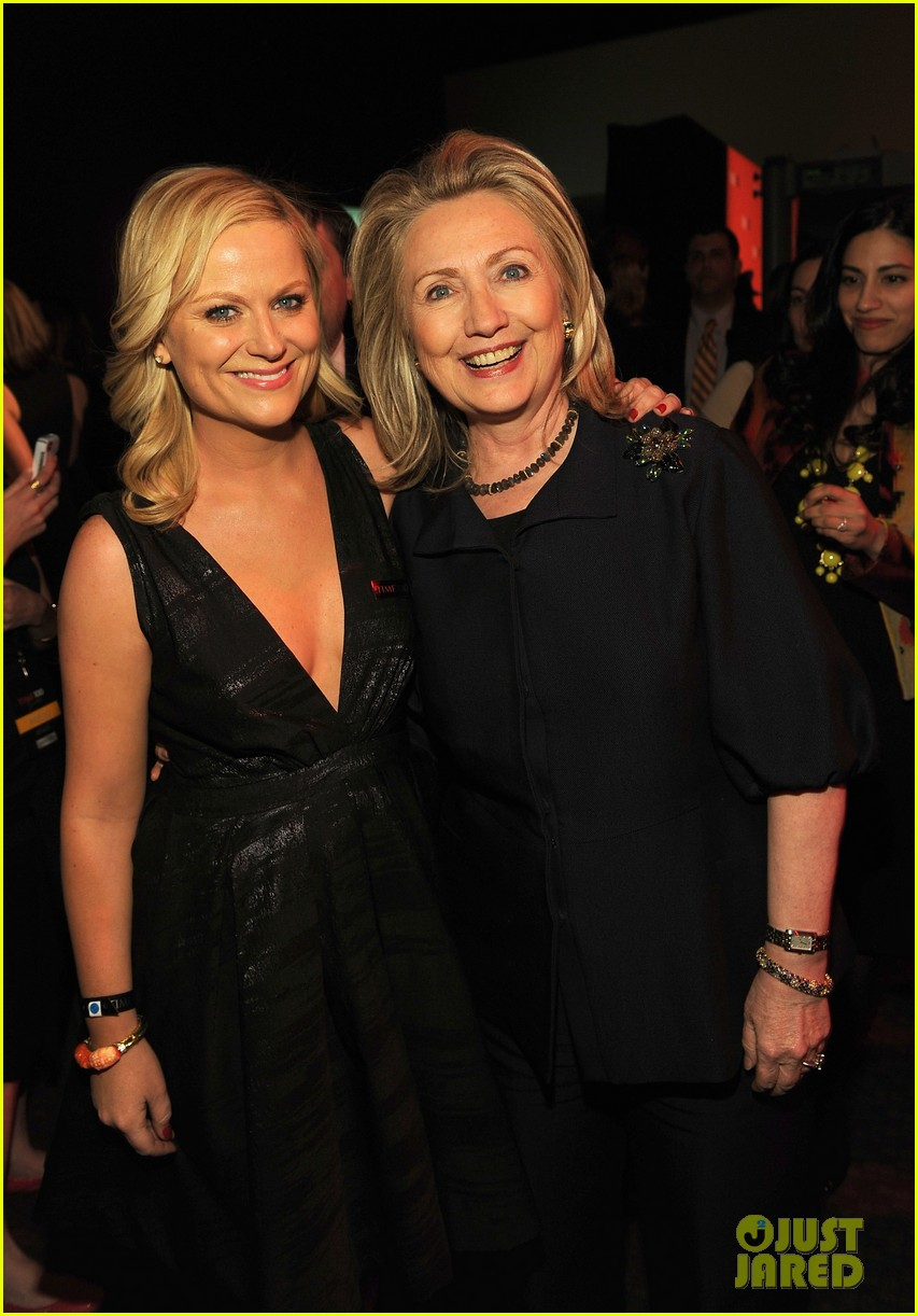 amy poehler hillary clinton time 100 03