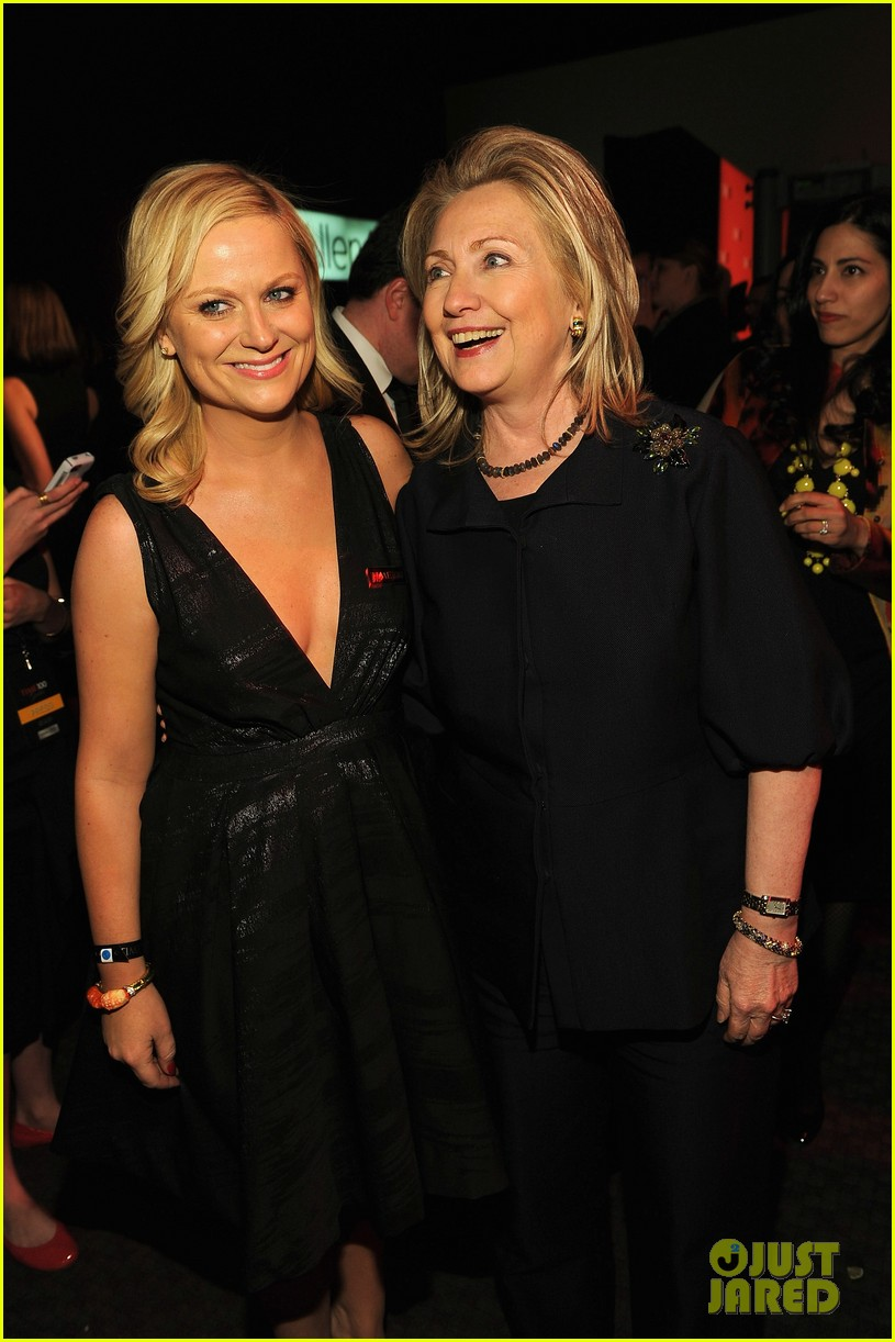 amy poehler hillary clinton time 100 05