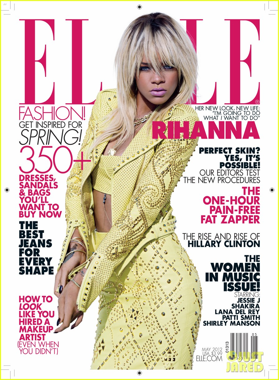 rihanna elle may 01